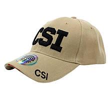 Бейсболка кепка Han-Wild CSI Khaki з вишитим написом для занять спортом