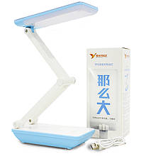 Lb Светодиодная лампа YAGE YG-5951 Blue аккумулятор 1200 мАч гибкая настольная для офиса работы чтения