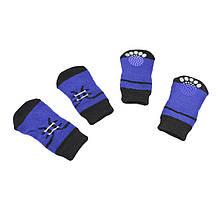 Антиковзні шкарпетки для собак Taotaopets 331 Шнурівка L бавовняні