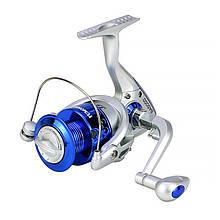 Lb Катушка безынерционная рыболовная Yumoshi SA 4000 Silver-Blue для спиннинга