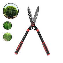 Lb Ножницы DingKe 740 мм для подрезки живой изгороди прямые садовые кусторез стальной