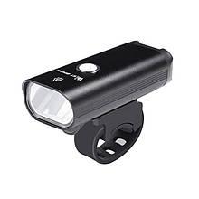 Велосипедна фара West Biking 0701257 Black металева велофара LED ліхтар для велосипеда