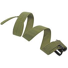 Ремінь тактичний Han-Wild Latch Green нейлоновий польовий брючні з металевою пряжкою військовий