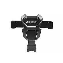 Автотримач Aikesi Gravity Drive Phone AMKJ001 Black автомобільний