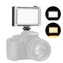 Світло Ulanzi FT-96LED переносний для камери зйомки фото і відео тепле і холодне освітлення