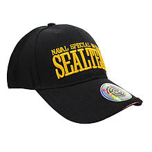 Бейсболка кепка Han-Wild Sealteam Black військова кепка для занять спортом спецназу