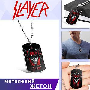 """Кулон-жетон Слейер """"Skull"""" / Slayer"""