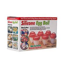 Lb Силиконовые формы формочки для варки яиц без скорлупы с начинками набор из 6 штук домашняя яйцеварка