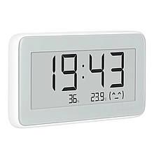 Lb Цифровая метеостанция Xiaomi Mijia Digital Hygrometer Clock E-ink измерение температуры влажности дисплей