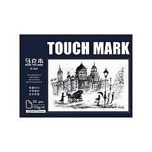 Скетчбук Touch mark TK-5021 120 г/м2 230*170 мм для малювання 30 аркушів