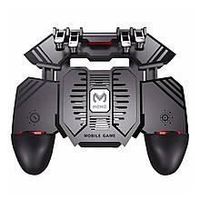 Lb Игровой геймпад триггер джойстик  AK77 с кулером охлаждения манипулятор для игр на смартфоне 1200 mAh