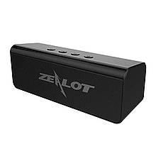 Колонка ZEALOT S31 Black Bluetooth 3W x 2 AUX 3.5 micro USB Гучний зв'язок TF карта Black портативний динамік