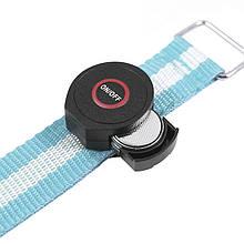 Світлодіодний LED браслет безпеки HY-0907 Blue для бігу і велоспорту в темряві підсвічування