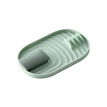 Кухонні підставка зручний органайзер для різного начиння А968-01 Green під кришки ложки лопатки