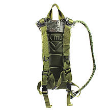 Рюкзак-гідратор поїлка питна система AOKALI Outdoor B09 3L Camouflage Green питна система