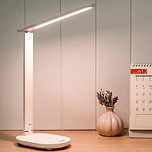 Lb Настольная светодиодная лампа YAGE YG-T115 White для работы учебы
