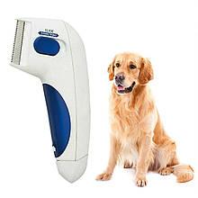 Lb Электрическая расческа для животных Flea Doctor с функцией уничтожения блох уход за домашними питомцами