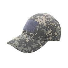 Тактична бейсболка Han-Wild Special Forces Camouflage з липучкою для силових структур військових
