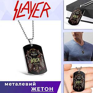 "Кулон-жетон Слейер ""Fill of life decays"" / Slayer"