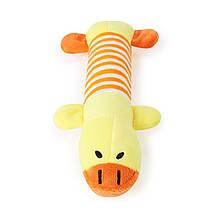 Плюшева іграшка Taotaopets 033322 Жовте Каченя для домашніх тварин