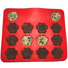 Lb Силиконовая форма Cumenss Red для выпечки десертов кексов в виде лапок