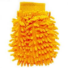 Lb Рукавица для мытья авто  45-2A/008 Orange бережное очищение мойка машины сухая/влажная уборка
