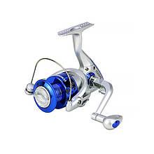 Lb Катушка безынерционная рыболовная Yumoshi SA 2000 Silver-Blue для спиннинга