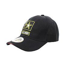Бейсболка кепка Han-Wild US Army Star Black армійська тактична чоловіча