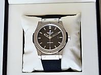 Hublot Classic Fusion silver чоловічі механічні наручні годинники