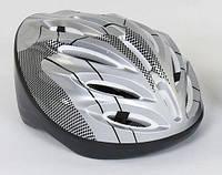 Детский защитный шлем СЕРЫЙ арт. 31980, фото 1