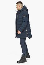 Модна чоловіча куртка зимова темно-синя модель 49023, фото 2