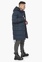 Мужская зимняя куртка тёмно-синего цвета модель 49990, фото 3