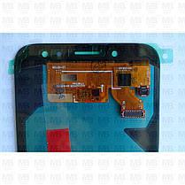 Дисплей з сенсором Samsung J730 Galaxy J7 2017 OLED Silver!, фото 3