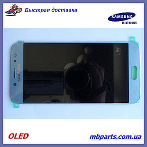 Дисплей з сенсором Samsung J730 Galaxy J7 2017 OLED Silver!, фото 2