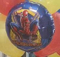 Шар фольгированный гелиевый Человек паук.  46 см