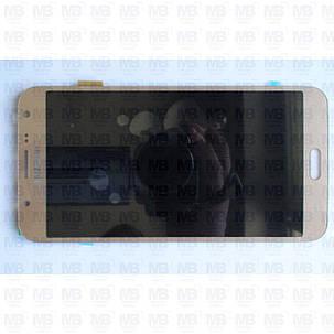 Дисплей с сенсором Samsung J700 Galaxy J7 2015 OLED Gold !, фото 2