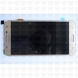 Дисплей з сенсором Samsung J701 Galaxy J7 Neo 2018 OLED Gold !, фото 2