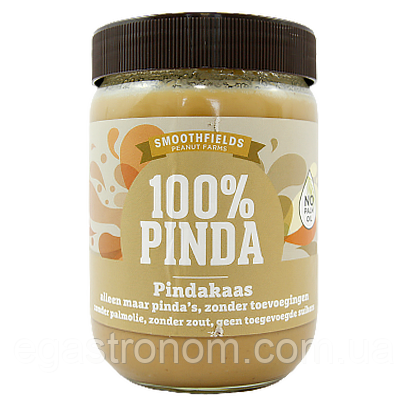 Арахісова паста Пінда крем 100% Pinda gluten free 500g 6шт/ящ (Код : 00-00006073)