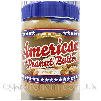 Арахісова паста крем American creamy 500g 6шт/ящ (Код : 00-00006070)