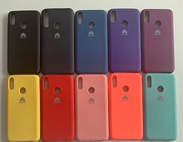 Чехол Silicone Cover для Huawei Y7 2019