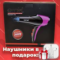 Профессиональный Фен GEMEI GM 1766 2600 Вт фен для волос