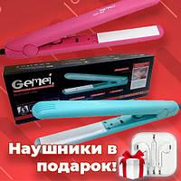 Утюжок, выпрямитель для волос, плойка для волос Gemei GM 1990