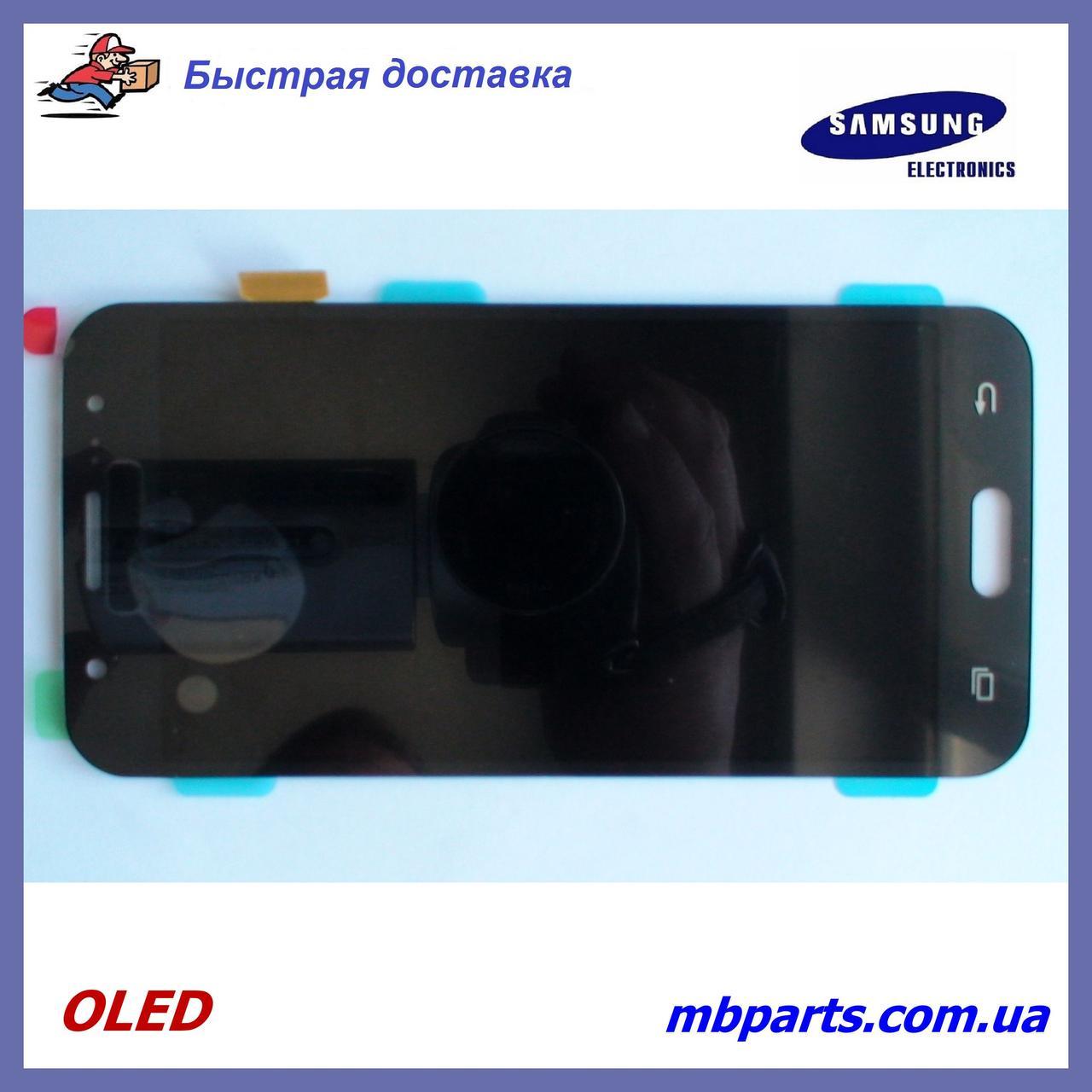 Дисплей с сенсором Samsung J500 Galaxy J5 2015 OLED Black !