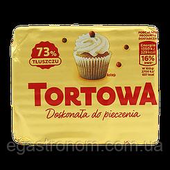 Маргарин Тортова для випічки Tortowa 73% 250g 30шт/ящ (Код : 00-00006066)