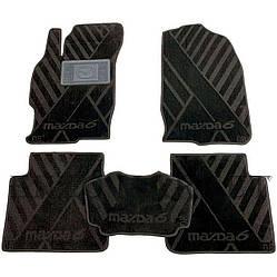 Текстильные коврики в салон Mazda 6 2007-2013 (AVTO-Tex)