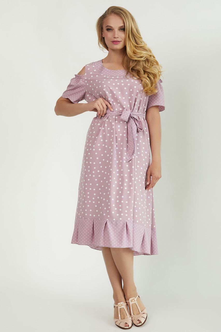 Легкое летнее платье свободного фасона