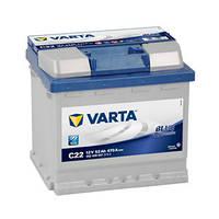 Аккумулятор Varta Blue Dynamic C22 552400047 52Ah 12v
