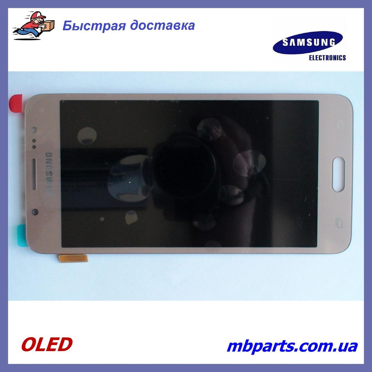 Дисплей с сенсором Samsung J510 Galaxy J5 2016 OLED Gold !