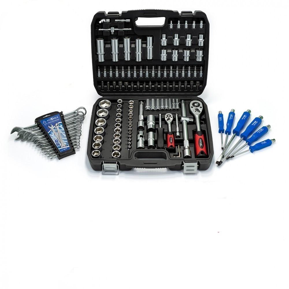 Набор инструментов 108 ед Profline + Набор Ключей 12 ед + Набор Отверток 6 ед + Магнит