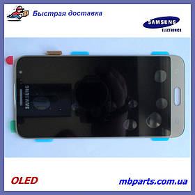 Дисплей с сенсором Samsung J320 Galaxy J3 2016 OLED Gold !